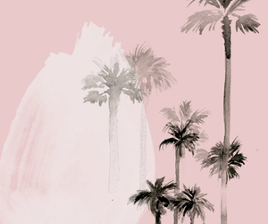 aesthetic, palm trees, and art image