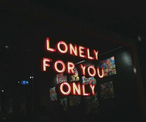 lonely, quotes, and grunge image