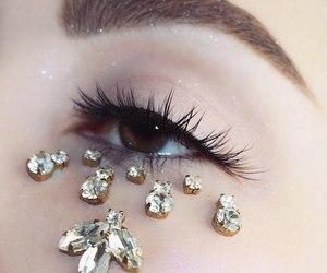 diamonds, lights, and makeup image
