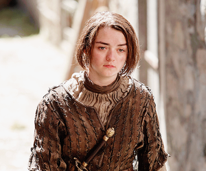 got, game of thrones, and maisie williams image