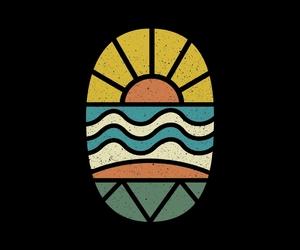 illustration, surf, and threadless image