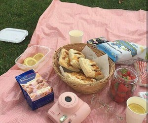 picnic, aesthetic, and pink image