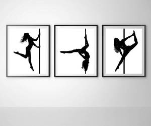 dancer, etsy, and poster image