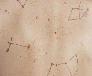 skin, stars, and constellation image