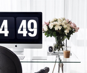 apartment, workspace, and decor image