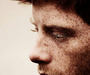 freckles, boy, and ginger image
