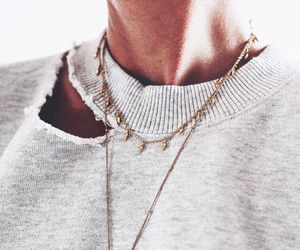 chic, necklace, and pretty image
