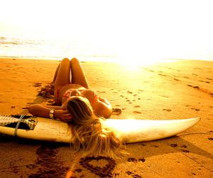 bikini, heart, and peace image
