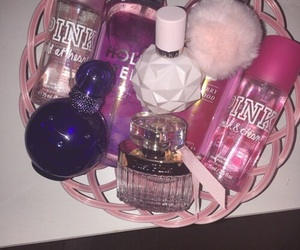 girly, luxury, and perfume image