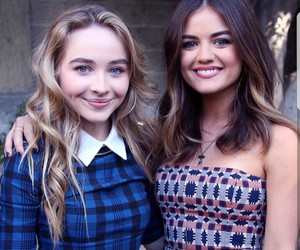 lucy hale and sabrina carpenter image