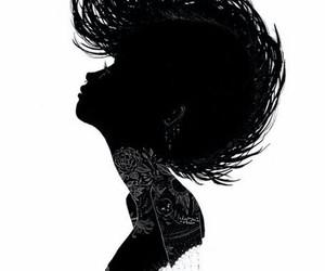 silhouette, art, and charmaine olivia image