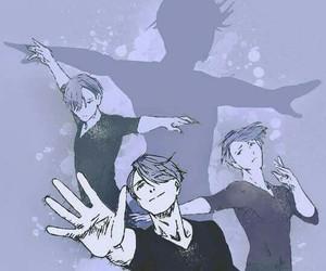 yuri on ice, viktor nikiforov, and anime image