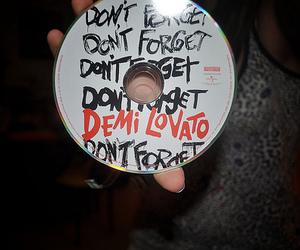 demi lovato, don't forget, and photography image