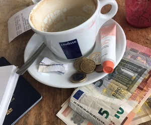 cafe, coffee, and money image