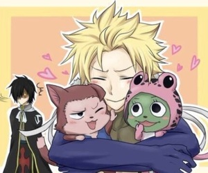 fairy tail, sting, and sabertooth image