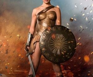comics, heroine, and movies image