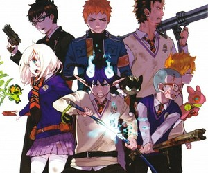anime and ao no exorcist image