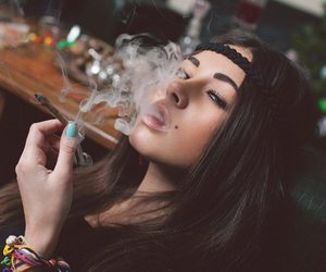 girl, weed, and diana melison image