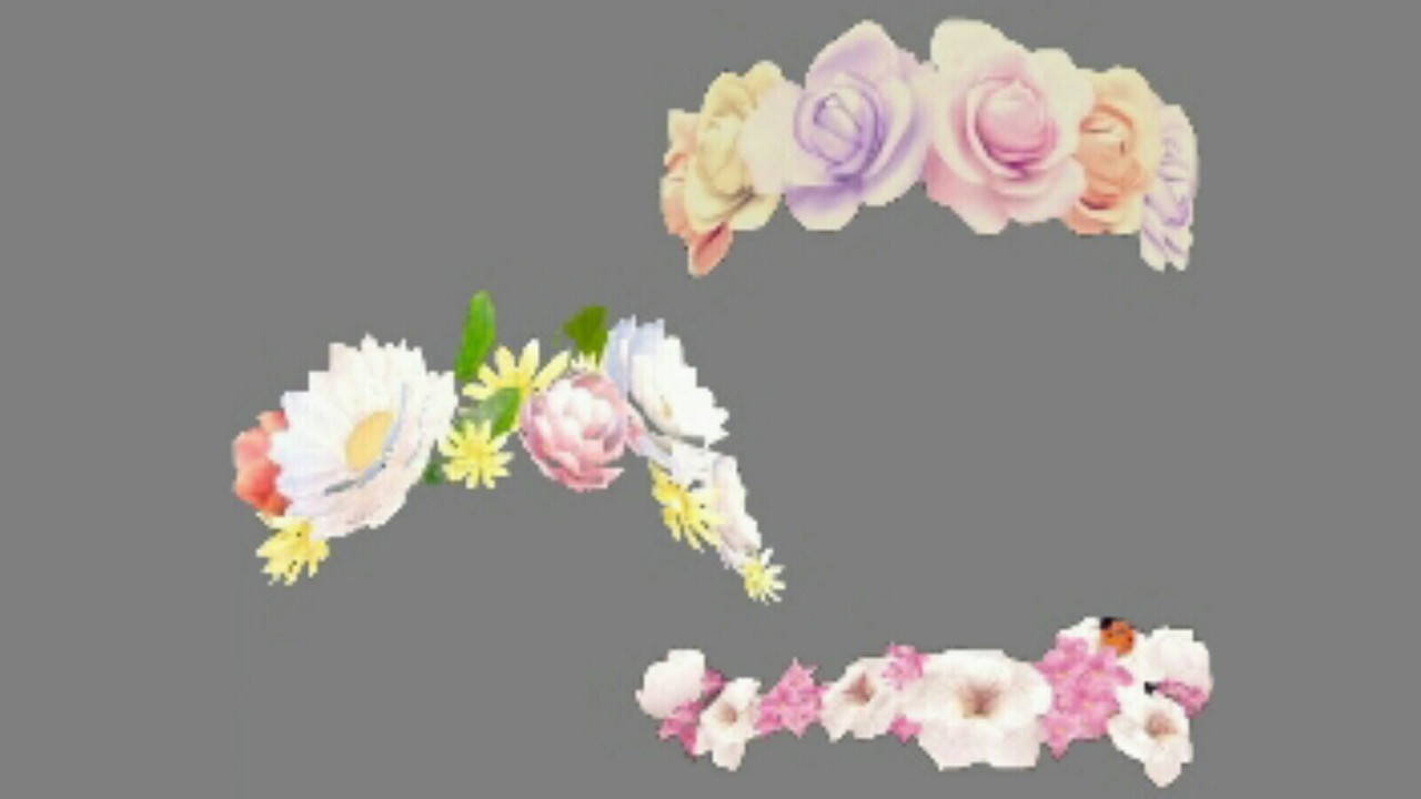Flower crown snapchat filter overlays made by letmelvoeyou on whi izmirmasajfo