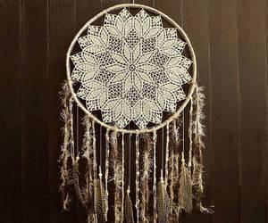 bohemian, crochet, and doily image