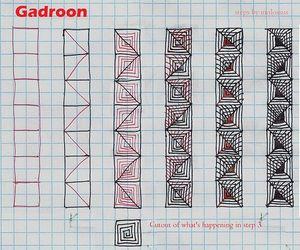 zendoodle, zentangle inspired art, and tangle pattern image