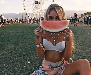 girl, coachella, and summer image