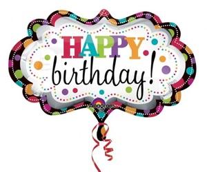 balloon, birthday, and b-day image