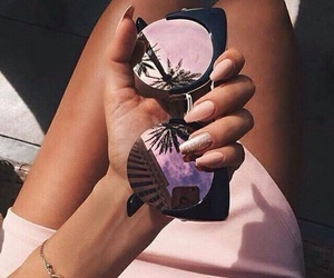 beauty, mirrors, and purple image