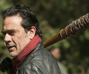jeffrey dean morgan, LUCILLE, and norman reedus image
