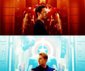 iron man, captain america, and Avengers image