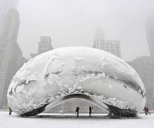 chicago and winter image