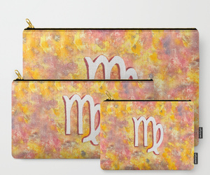 astrology, bag, and pencil case image