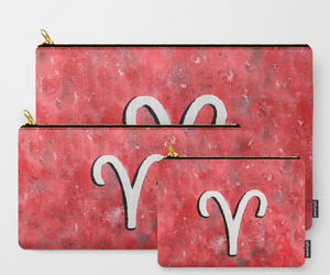 aries, maroon, and astrological sign image