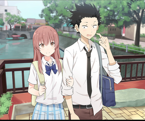 anime and koe no katachi image