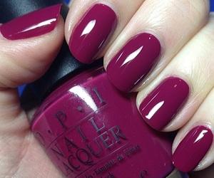 nails, opi, and nail polish image