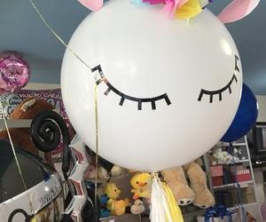 balloon, unicorn, and globuche image