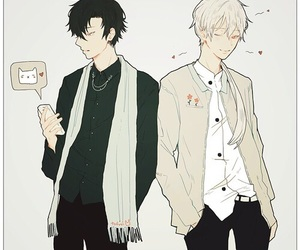 mystic messenger, anime, and art image