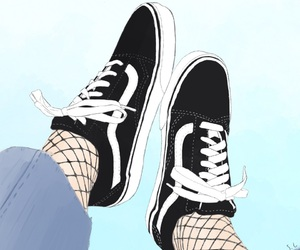 drawing, summer, and vans image