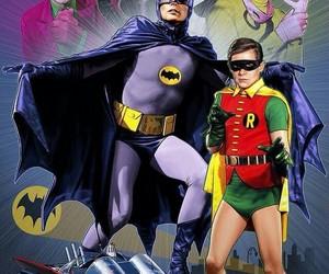 catwoman, robin, and bateman image