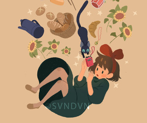 ghibli and kiki's delivery service image
