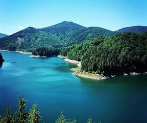 blue, lake, and romania image