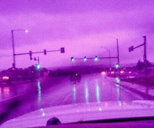 purple, glow, and grunge image