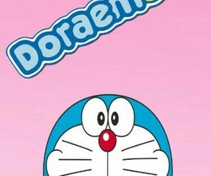 background, cartoons, and doraemon image