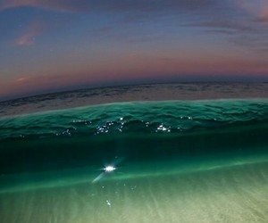 beach, blue, and green image
