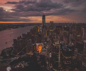 beauty, evening, and cities image