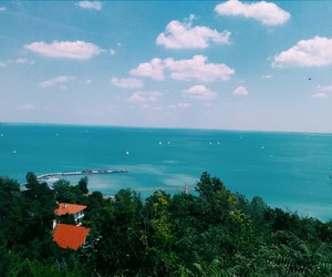 adventure, balaton, and blue image