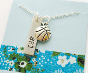 etsy, personalized, and basketball gift image
