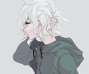 anime boy, anime, and nagito komaeda image