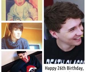 birthday, edits, and dan and phil image