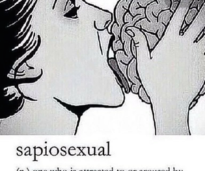 brain, inteligence, and sapiosexual image